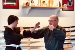 Training im Dojo Uster 2019